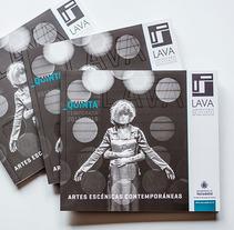 Programa del Laboratorio de las Artes de Valladolid. Um projeto de Design, Design editorial e Design gráfico de Laura Asensio         - 21.07.2015