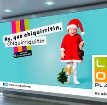 Campaña de Navidad para el Centro Comercial León Plaza. Um projeto de Design e Design gráfico de Laura Asensio         - 21.12.2014