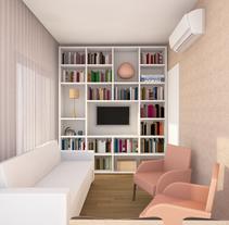 Render Moura661- Carpinteria. Un proyecto de 3D, Arquitectura, Consultoría creativa, Arquitectura interior y Diseño de interiores de Manuela Albuquerque         - 22.04.2016