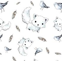 Patrones del Ártico. Un proyecto de Diseño, Ilustración y Diseño gráfico de Antia Otero Couselo - Jueves, 24 de noviembre de 2016 00:00:00 +0100