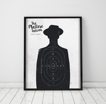 Póster The Maltese Falcon. Un proyecto de Diseño gráfico de Mónica Grützmann         - 29.03.2016