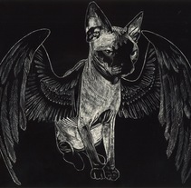 Hellcat. A Illustration project by Xavier Ferré         - 27.11.2016
