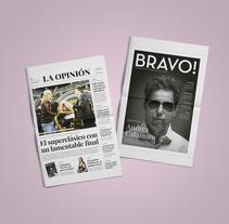 Diario La Opinión. Un proyecto de Diseño, Diseño editorial, Diseño gráfico y Diseño de la información de Mariana López Neugebauer - Miércoles, 30 de noviembre de 2016 00:00:00 +0100