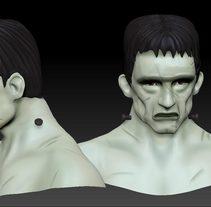 Mi Proyecto del curso: Modelado de personajes en 3D. Un proyecto de 3D de Daniel Bóveda         - 21.06.2017