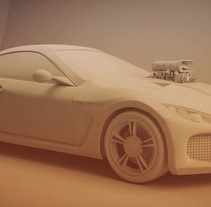 3D Car. A 3D project by Carlos Saez Martinez         - 19.11.2015