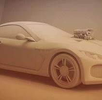 3D Car. Un proyecto de 3D de Carlos Saez Martinez         - 19.11.2015