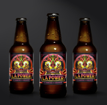 La Power. A Illustration, Art Direction, and Packaging project by Fer Taboada         - 30.11.2016