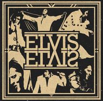 """Elvis """"The King"""" SHIRT. Um projeto de Design e Design de vestuário de Max Gener Espasa - 01-12-2016"""