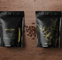 Mucho. Coffee Blends. A Br, ing, Identit, and Packaging project by Diestro         - 04.12.2016