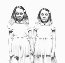 The Shining. Un proyecto de Ilustración de Joaquín  Rodríguez - 08-12-2016