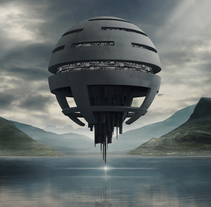 Sphere. Um projeto de Ilustração, 3D e Direção de arte de Luis Miguel Galache         - 12.12.2016
