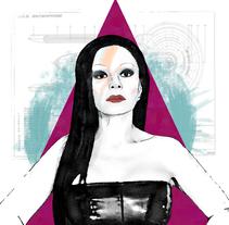 Mi Proyecto del curso: Retrato ilustrado con Photoshop / personaje: Alaska.. Um projeto de Design, Ilustração e Design gráfico de Raúl Soto         - 15.12.2016