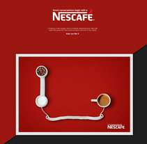 Nescafe | New Slogan. A Advertising, Br, ing, Identit, and Graphic Design project by Jona Flores         - 16.05.2016