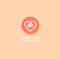 Design APP - Foodie Place. A Illustration, Art Direction, Graphic Design, and Social Media project by Beatriz de la Cruz Pinilla - 21-12-2016