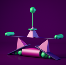 Mi Proyecto del curso: Introducción exprés al 3D: de cero a render con Cinema 4D. A 3D project by Daniel Mata - 31-12-2016