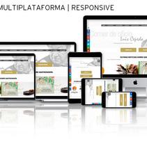 Sitio Web | RESPONSIVE: www.comerdeoficio.com. Un proyecto de Diseño, Publicidad, Consultoría creativa, Marketing, Diseño Web, Desarrollo Web y Social Media de Eduardo García Indurria         - 19.01.2016