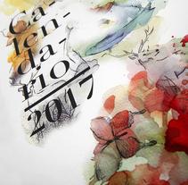Calendario. A Design project by Laura Rodríguez García         - 08.01.2017