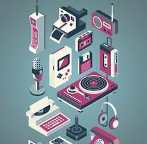 Retro Technology. Un proyecto de Ilustración de Ricardo Polo López - Martes, 10 de enero de 2017 00:00:00 +0100