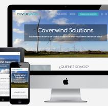Coverwind | Web corporativa. A Web Development project by Javier Trillo Fontán         - 02.01.2017