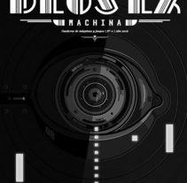 Deus Ex Machina: Cuaderno de máquinas y juegos . Un proyecto de Ilustración y Bellas Artes de Isi Cano - 13-07-2016