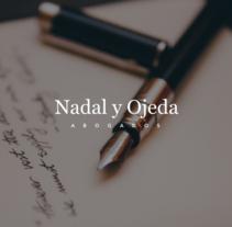 Nadal y Ojeda Website. Un proyecto de UI / UX, Diseño interactivo, Diseño Web y Desarrollo Web de NO — CODE         - 16.01.2017
