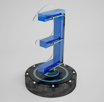 Lettering 3D: modelado y texturizado con Cinema 4D. A 3D project by ENMANUEL RONDON         - 19.01.2017