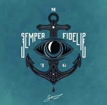S E M P E R • F I D E L I S. A Design, Illustration, and Fashion project by Max Gener Espasa         - 19.01.2017