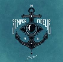 S E M P E R • F I D E L I S. Um projeto de Design, Ilustração e Moda de Max Gener Espasa - 19-01-2017