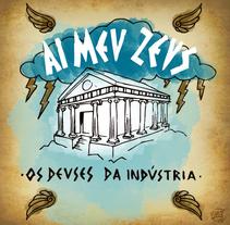 Ai Meu Zeus - Ilustraciones para la revista SESI MINAS. Un proyecto de Ilustración de Edmundo Miranda         - 23.01.2017