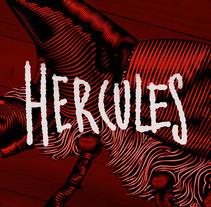 Dynastes hercules. A Illustration project by Daniel Jimenez - 23-01-2017