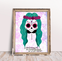 Catrina. A Design, Illustration, T, and pograph project by Almudena La Orden         - 25.11.2015