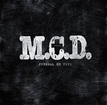 M.C.D. Album doble vinilo. Un proyecto de Música y Audio de Niko  - Domingo, 10 de enero de 2016 00:00:00 +0100