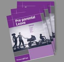 Leaflet Parental Leave Guide. A Editorial Design, and Graphic Design project by Amaya Ríos         - 28.01.2013