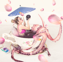 Té Dulce De Pulpo. A Illustration, and Photograph project by Ivan Yael Dominguez - 05-11-2016