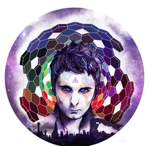 Matt Bellamy - Muse. A Illustration, Music, Audio, and Graphic Design project by Diego Torres         - 30.01.2017