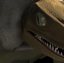 3D Raptor. A 3D project by José Jesús Lucas Díaz - Hellín         - 30.01.2017