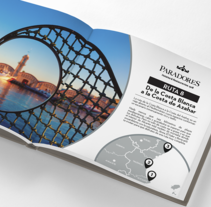 Paradores - Una Ruta por Descubrir. A Editorial Design, and Graphic Design project by Mónica Casanova Blanco         - 31.01.2017