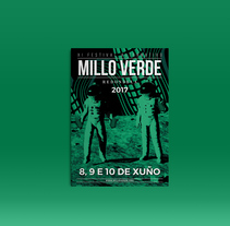 Millo Verde Festival. A Br, ing, Identit, and Graphic Design project by Aleks Figueira         - 01.02.2017