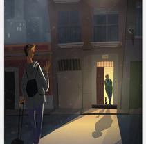 Alegrame las pascuas 2017. A Illustration project by Gil Gijón         - 21.12.2016