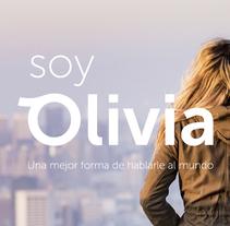 Soy Olivia. Um projeto de Br e ing e Identidade de Aitor Saló         - 07.02.2017