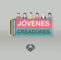 Jóvenes Creadores. A Motion Graphics project by Jaime Murciego - 11-04-2013