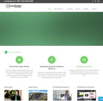 Ecolumen Portal . A Web Development project by Daniel Mendoza         - 13.05.2015