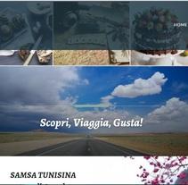 Travel blog. A Web Design project by Carolina Paolillo         - 16.02.2017