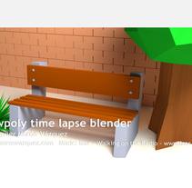Blender Timelapse Slowpoly Nigth House. Un proyecto de Diseño, Cine, vídeo, televisión, 3D, Animación y Diseño de iluminación de Fco Javier  Morón Vázquez - 21-02-2017