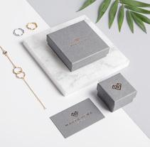 Marta Peña Jewels - Identity. Um projeto de Direção de arte, Design gráfico e Packaging de Sirōko Studio         - 02.03.2017