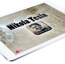 Nikola Tesla (iPad App). A UI / UX, Graphic Design&Interactive Design project by Alejandro Polanco Masa         - 04.03.2017
