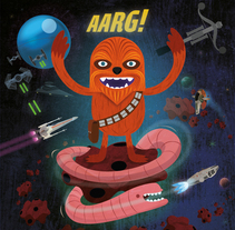 arg!. A Design, Illustration, Character Design, Editorial Design, Fine Art, Graphic Design, Comic, and Film project by Rafa Garcia  - 08-03-2017