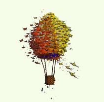 Ilustraciones Personales - Ideas. Um projeto de Ilustração e Artes plásticas de Juan Alonzo         - 13.03.2017