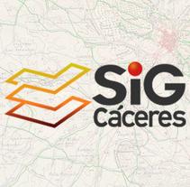 SIG de Cáceres. Um projeto de Design, Ilustração, Fotografia, Br, ing e Identidade, Marketing e Web design de Javier Cruz Domínguez         - 31.10.2014