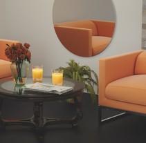 """Naranjas"" Archviz Interior. Um projeto de 3D de Daniel Palacio         - 20.03.2017"